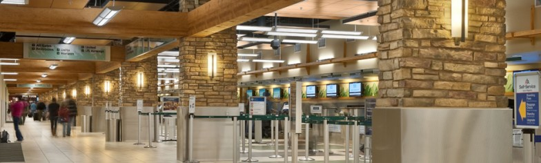 Reno-Tahoe Airport Automated Baggage Check-In