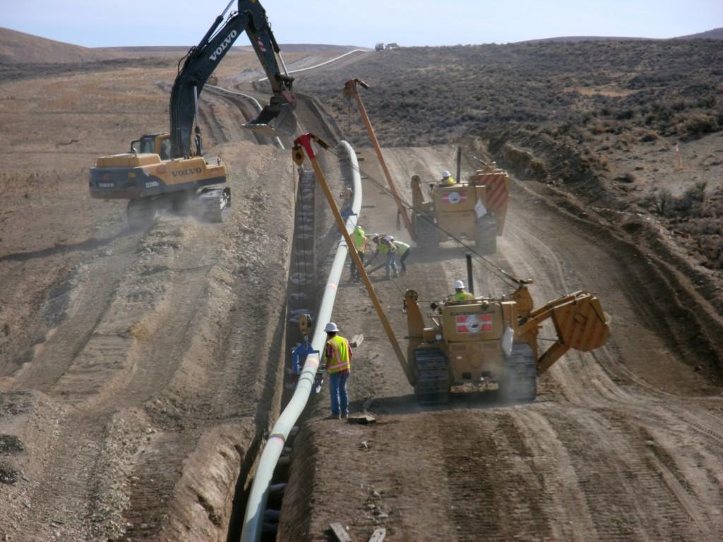 North Elko Pipeline Project Q Amp D Construction
