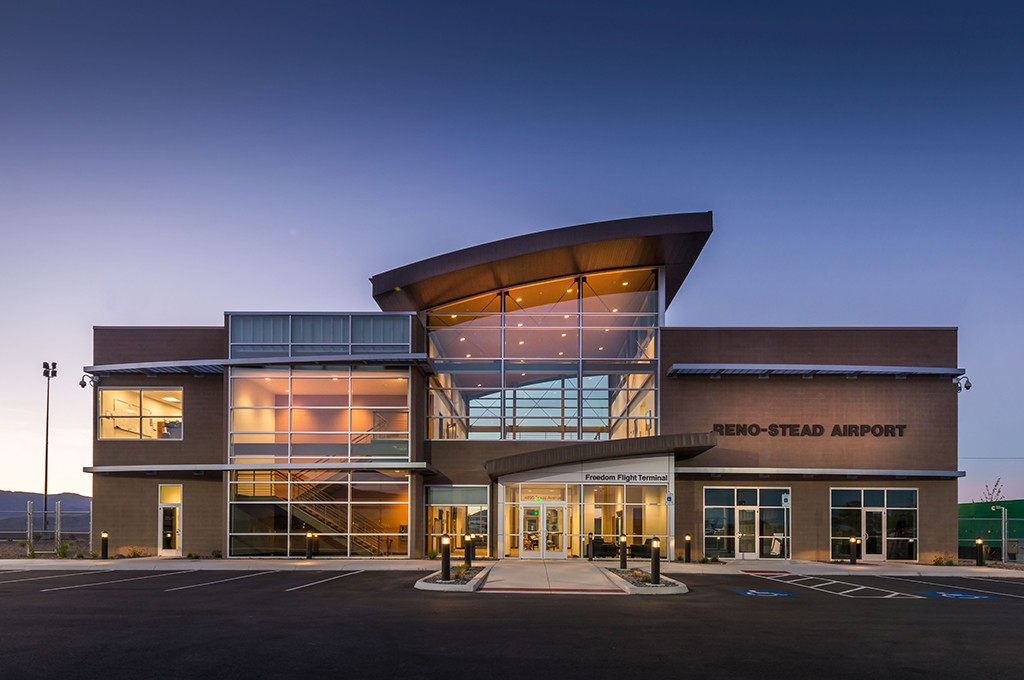 Instantaneous Water Heater >> Reno-Stead Airport Terminal Building (RTS) - Q&D Construction