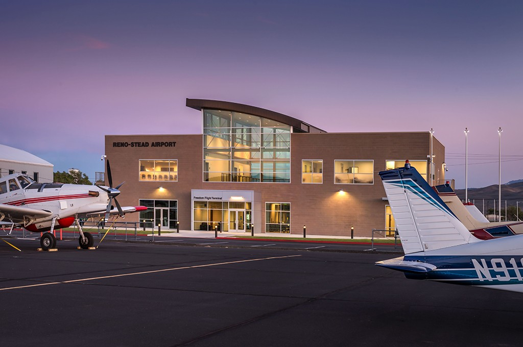 Reno Stead Airport Terminal Building Rts Q Amp D Construction