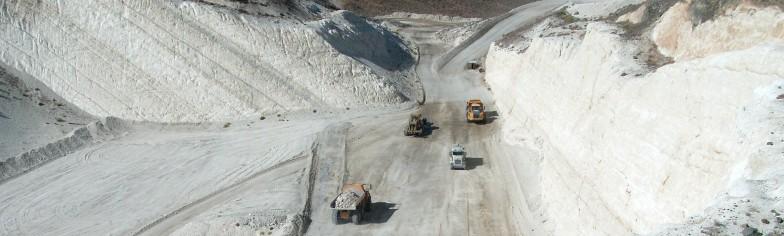 Clark & Hazen Pits Ore Mining