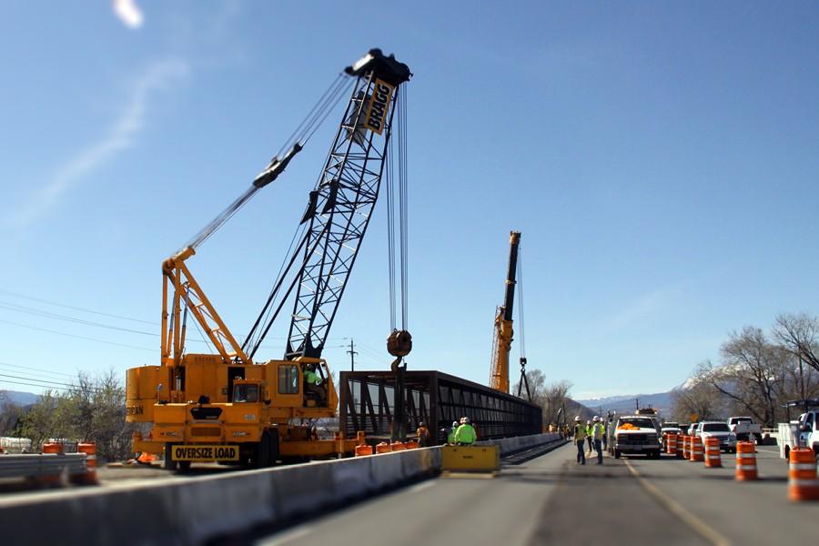 Successful Pedestrian Bridge Installation at SE McCarran in Reno