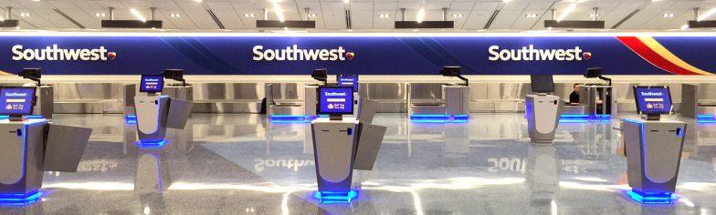 Southwest Airlines Rebranding Signage