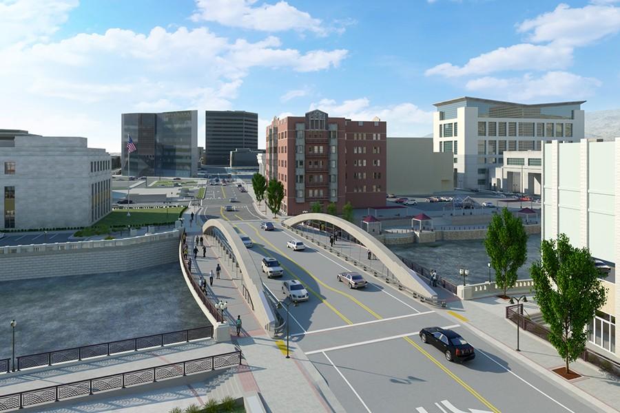 Q&D to construct historic Virginia Street Bridge replacement