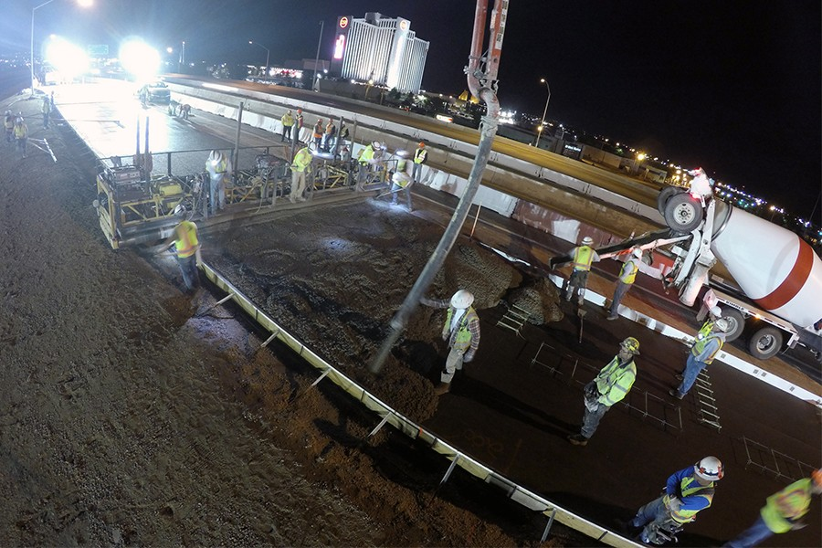 I-580 South Project Progressing Well