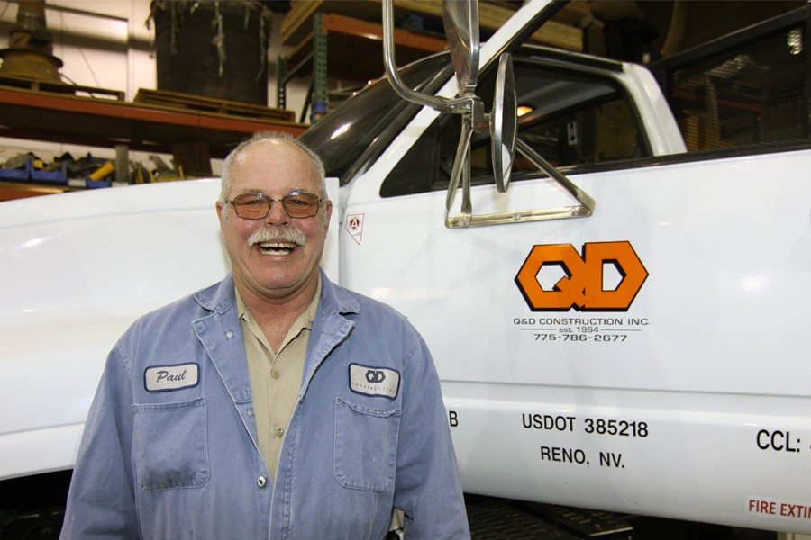 Q&D Promotes Paul Reed to Shop Foreman