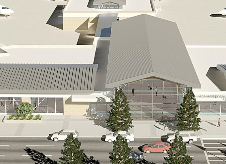 San Luis Obispo Airport New Terminal