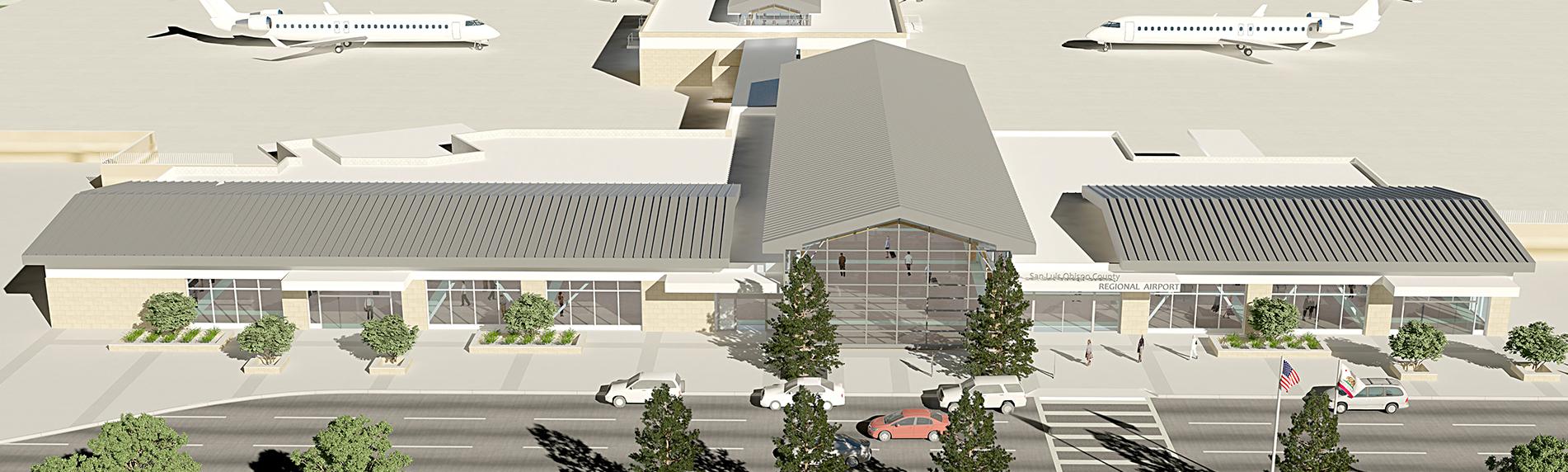 san luis obispo airport new terminal contractor
