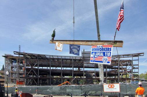 el wiegand fitness center on time onbudget2 topping out
