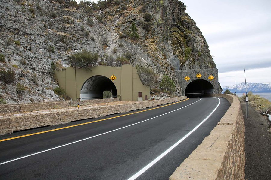 U.S. 50 CAVE ROCK TUNNEL EXTENSION PROJECT WINS AWARD