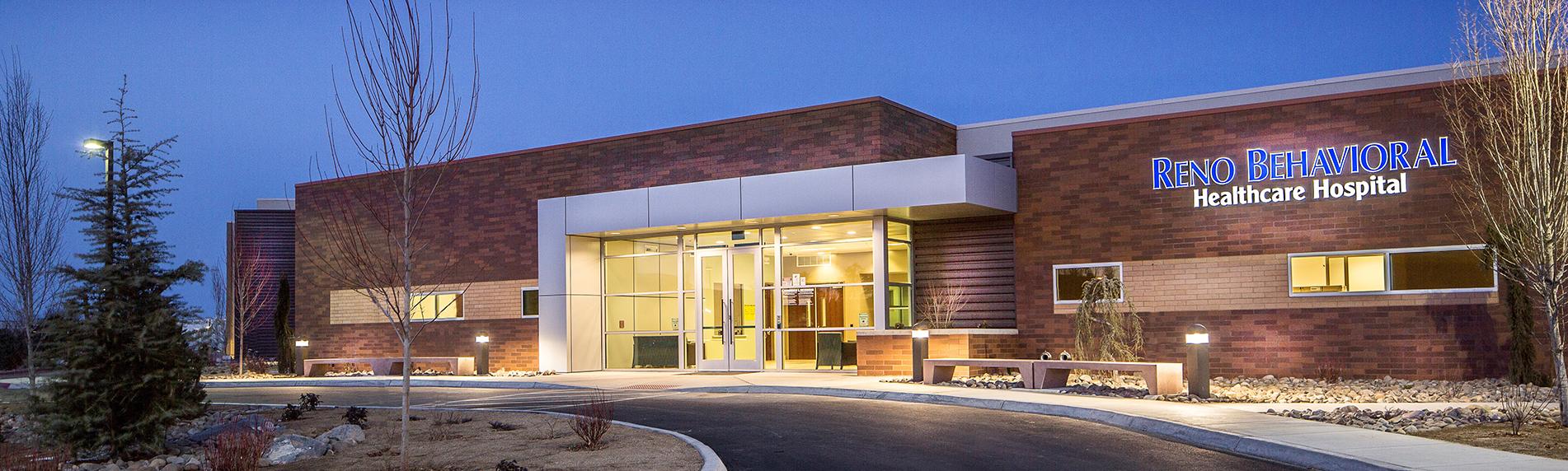 new behavioral healthcare hospital in reno nevada