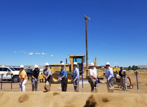 northern nevada veterans home groundbreaking ceremony