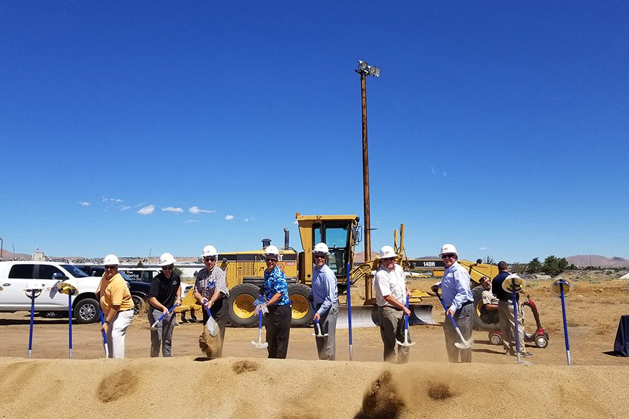 NORTHERN NEVADA STATE VETERANS HOME BREAKS GROUND