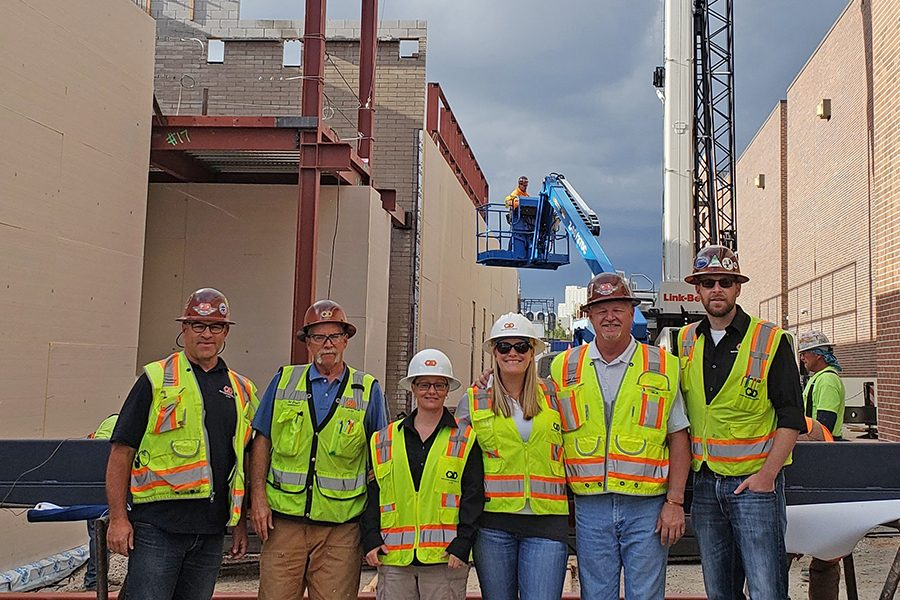 University Arts Tops Out