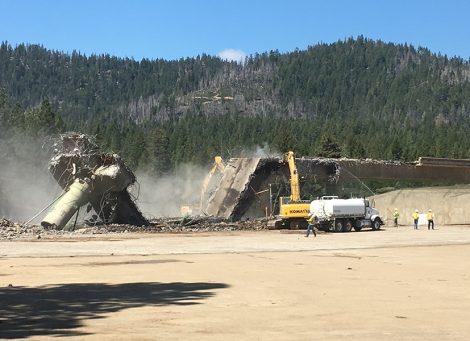 lake almanor bridge demolition