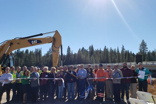 lake almanor bridge opens