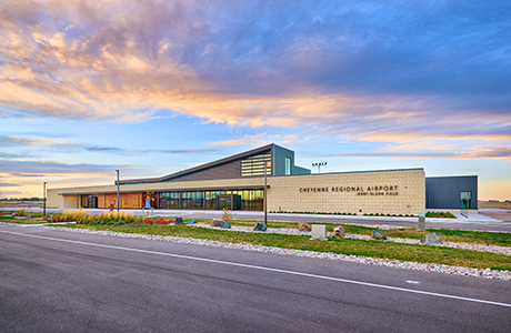 cheyenne regional airport new terminal construction