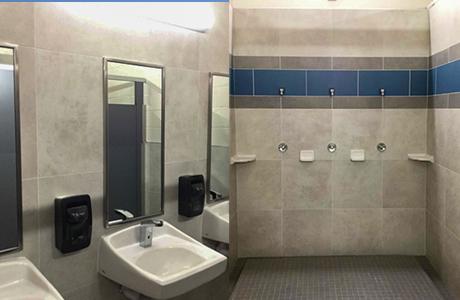 douglas swim center improvements