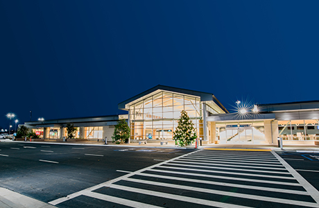 the san luis obispo county arirport terminal
