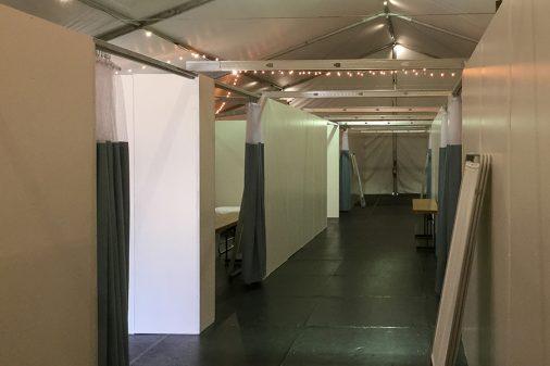 st.marys triage tent covid19