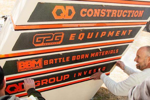 new q&d signage