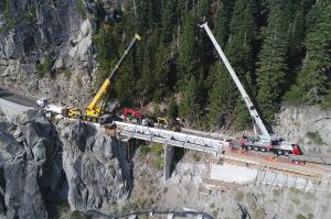Q&D Construction echo summit bridge replacement